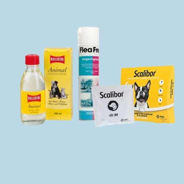 Tegels producten vlooien en teken   tuckercare dé online dierenwinkel!